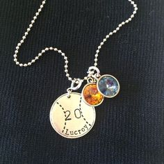 Baseball and softball moms: Get your player's name and number on a charm with jBloom designs Www.myjbloom.com/sharoldegroot