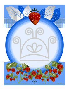 """Part of a triptych """"Strawberry"""""""