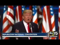 FULL SPEECH: Donald Trump - Republican National Convention - THE NEXT PRESIDENT OF THE USA? - YouTube
