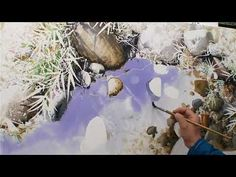 How to Paint Trees in Watercolor with Terry Harrison (Preview) - YouTube