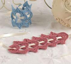 Crocheted Lace Bracelet Pattern - Victorian-Inspired Lace Bracelet