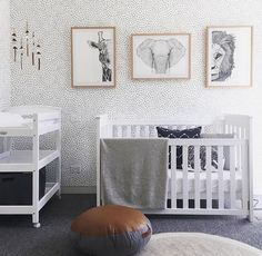 Nice 58 Unique Baby Boy Nursery Room with Animal Design. More at http://trendecor.co/2017/10/09/58-unique-baby-boy-nursery-room-animal-design/