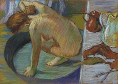 Love Degas' pastel paintings of dancers and bathers? Let us learn his pastel techniques from the demo on this page.