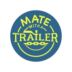 Branding Project for Mate With A Trailer - Papamoa, Tauranga, New Zealand. Examples of Case In Point Graphic Design branding