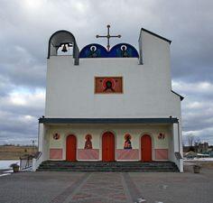 Jerzy Nowosielski ,Biały Bór Christian Church, Christian Art, Color Symbolism, Sacred Architecture, Sacred Art, Ikon, Temples, Travel Inspiration, Catholic