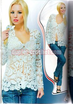 January 2014 Duplet Special XXL Release Irish Laces 7 Russian crochet patterns magazine
