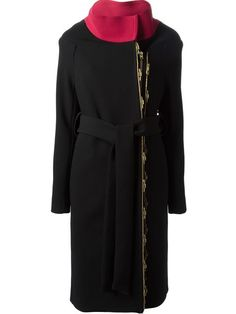 Shop Roland Mouret 'Adelges' coat in Davinci from the world's best independent boutiques at farfetch.com. Over 1000 designers from 60 boutiques in one website.