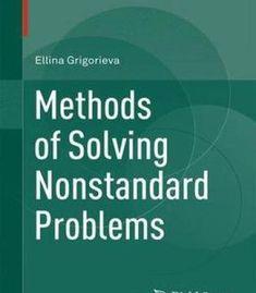 Methods Of Solving Nonstandard Problems PDF