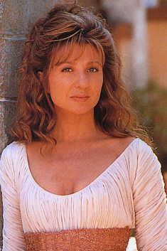 ~ Actress Donna Murphy, who has performed on Broadway and the big screen.  Here, she played the character, Anij-in the movie, Star Trek Insurrection.  Because of her superb voice, she was also the character Mother Gothel, doing all the singling in Tangled with Mandy Moore. ~
