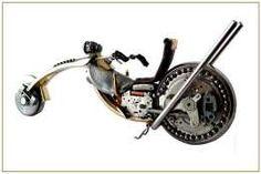 Motocykl- watch motorcycle-chopper