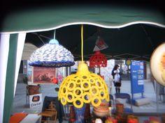 lampadari realizzati in carta riciclata. visita la pagina https://www.facebook.com/pages/Il-Fabbricatore-di-Salvatore-Pullar%C3%A0/583580198379555