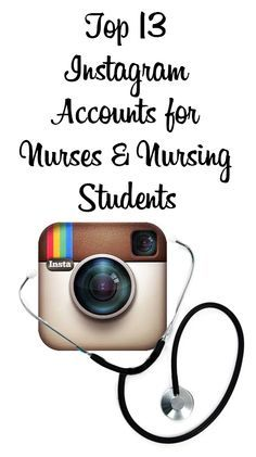 13 Instagram Accounts for Nurses and Nursing Students