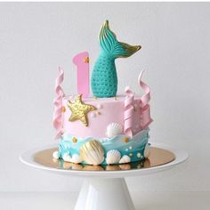 Mermaid cake | Mermaid Party