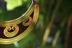 Sun rising, Double heart spiral. 24K gold, oxidised copper. www.carnemolla.com.au Bangles, Bracelets, Spiral, Jewlery, Copper, Heart, Gold, Jewerly, Schmuck