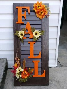 26 Favorite DIY Fall Decorating Ideas * in the pays-des-fleu . - 26 Favorite DIY Fall Decorating Ideas * the country-of-fleu … - Diy Home Decor Rustic, Fall Home Decor, Autumn Home, Diy Autumn, Fall Decor For Porch, Fall Decor Outdoor, Autumn Crafts, Outdoor Fire, Summer Crafts