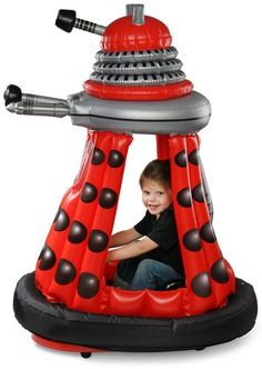 DOCTOR WHO - Ride-in Inflatable 128cm Dalek (Kids @ Play) #NEW