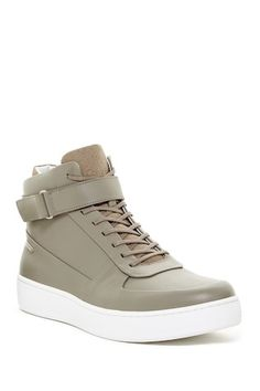 Navin High-Top Sneaker Urban Fashion, Mens Fashion, Nordstrom Rack, High Tops, High Top Sneakers, Calvin Klein, Casual, Shoes, Moda Masculina
