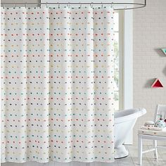 JLA Coty Shower Curtain