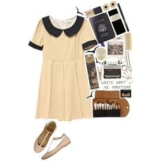 """Write about me sometime"" by delphinium-decorum on Polyvore"