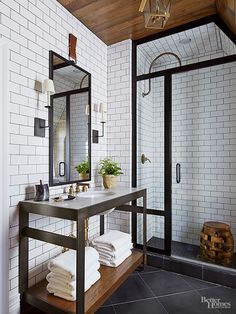 When it comes to trending bathroom designs, less is more. The move toward simplicity emphasizes clean lines and uornamented furnishings, replacing the fussy moldings and materials of the past./