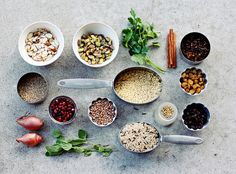 ingredients all together by seven spoons • tara, via Flickr
