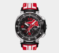 Tissot Nicky Hayden 2012 Limited T-Race Men's Black Quartz Sport Watch