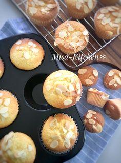 「生クリームでふんわりマフィン♡」misaki | お菓子・パンのレシピや作り方【cotta*コッタ】