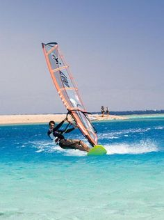 Windsurfing was something that we used to do. However it is not as popular in the UK so more difficult to find venues to partake. Still a great sport though !