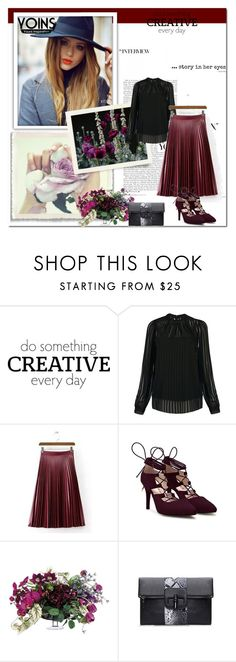 """""""Yoins contest"""" by eddy-smilee ❤ liked on Polyvore featuring Cuero, Allstate Floral, women's clothing, women's fashion, women, female, woman, misses, juniors and yoins"""