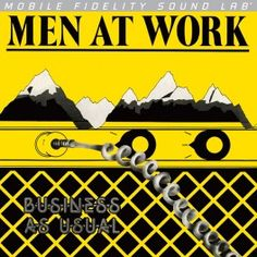 Men+At+Work+Business+As+Usual+LP+Vinil+Mobile+Fidelity+Sound+Lab+Ediçao+Limitada+Numerada+MFSL+2016+USA+-+Vinyl+Gourmet