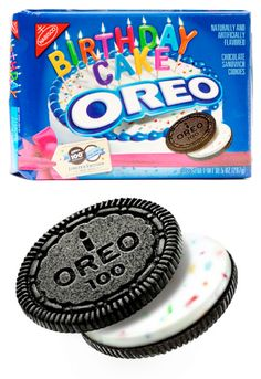 Best cookie ever! ;)  birthday cake oreos