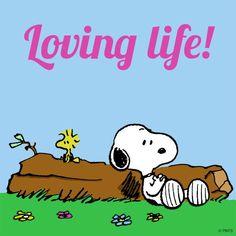 Loving life.