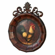 Benzara 21865 20 in. Rooster Round Plaque wall Decor by Benzara. $30.54. Classic metal piece for any home decor.. Design is stylish and innovative. Satisfaction Ensured.. Rooster Metal Round Plaque wall Decor Sculpture 20quot; in height x 16quot; wide .. Great Gift Idea.. Catch the new trend in home furnishing.. Benzaras exclusive and trendy home decor accents nautical decor accessories and furniture products from India has gained itself a reputation due to the high quality and d...