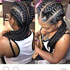 Braids for Spring! Underbraids, Box Braids and Cornrows Single Braids Hairstyles, African Braids Hairstyles, My Hairstyle, Pretty Hairstyles, Girl Hairstyles, Evening Hairstyles, Hairstyles Videos, Black Girl Braids, Girls Braids