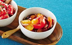 Recipe: Two-Tomato Salad: Organic Gardening