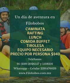 Este fin de semana un día de aventura es lo que necesito www.filobobos.com.mx #filobobos #Veracruz