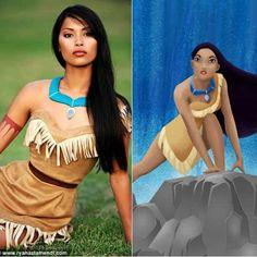 Disney Real life Pocahontas - via http://bit.ly/epinner - @Abigail Phillips Regan Truax://blog.truffleshuffle.co.uk/