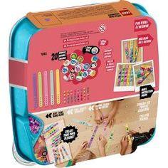 LEGO DOTS Bracelet Mega Pack DIY Creative Craft Bracelet-Making Kit For Kids 41913 : Target Creative Play, Creative Thinking, Creative Crafts, Cute Friendship Bracelets, Friendship Jewelry, Diy Crafts For Kids Easy, Lego Invitations, Buy Lego, Mega Pack