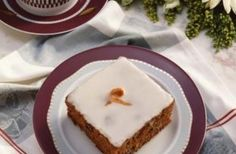 Give a citrus bite to your carrot cake with concentrated orange juice.