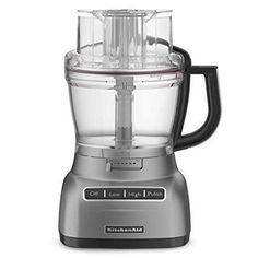 KitchenAid KFP1344 13cup Architect Series Food Processor Metallic Chrome *** Read more reviews of the product by visiting the link on the image-affiliate link.