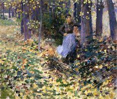 Theodore Robinson - Autumn Sunlight