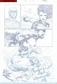 Kwan Chang :: For Sale Artwork :: Avengers # 3 by artist Jerome Opena