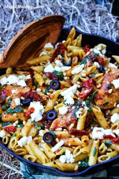Menu Musings of a Modern American Mom: Mediterranean Chicken Pasta