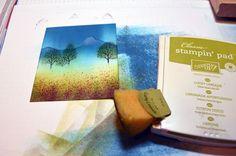 Spring Mountain – Stampin' Up! Card Tutorial #580  