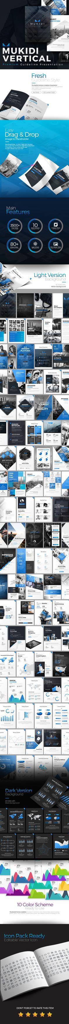Mukidi Vertical Premium PowerPoint Presentation Template