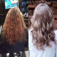 Spent some time today bringing this lovely young lady back to more of her regrowth color so she doesn\'t have to keep coloring (covering) her grays! Thank you #silverwhites #grayhair #coloredtolooknatural #silver #igora #stylistssupportingstylists #correctivecolor #olaplex #btconeshot_transformations16 #btconeshot_haircolor16 #btconeshot_color16 #modernsalon #maturehair #collagen #collagenforhair @hairnmusic Cheveux & Co. #beforeafter #before #after #beforeandafter #makeovermonday @skppro S...