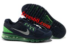 best cheap 24901 fdbcb for nikes OFF - Mens Nike Air Max 2013 Blackened Blue Reflective Silver  Poison Green Shoes