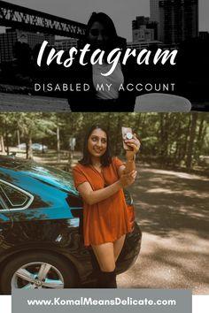 Instagram Disabled, Disabled Instagram, Help me Instagram. #Instagramdisabled #disabledinstagram