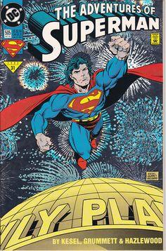 Adventures of Superman #505 A (1987 Series)  - Oct 1993 - DC Comics - Grade NM