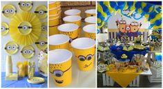 Decoración y ideas para una fiesta de Minions ~ cositasconmesh